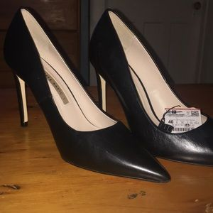 ZARA Basic Black Pumps, Size 40, NWT, Never Worn